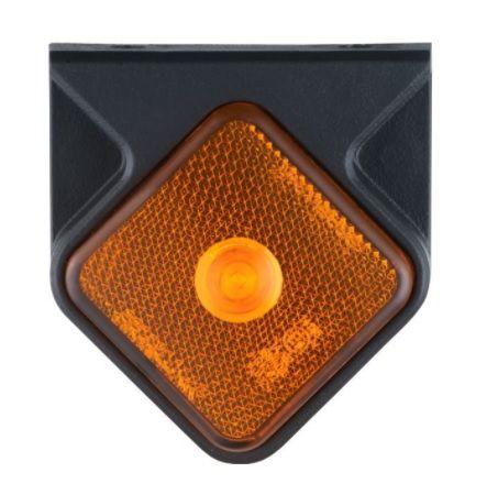 256e6ee9bd Lanterna Lateral de LED 24v Carretas Guerra 2014 Amarela - Braslux ...