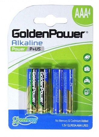 Bateria 3AAA Golden Power c/4 und