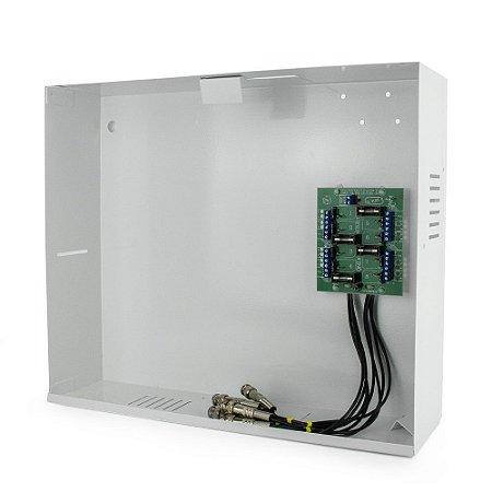 Gabinete - Rack organizador metalico mini HD3000 08 CHN ONIX
