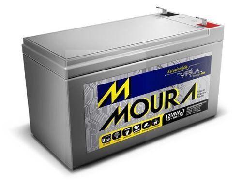 Bateria selada 12V 7A moura