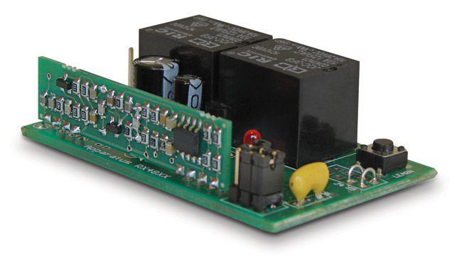 Receptor automatização 2 canais 433mhz ap AU 433