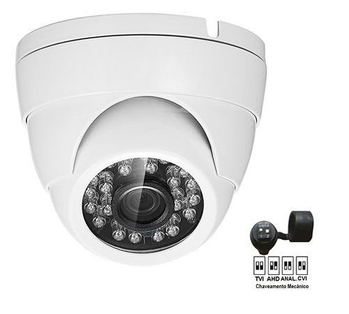 CAMERA DOME METAL 2MP 4X1 IR 20MT TW8620-HD