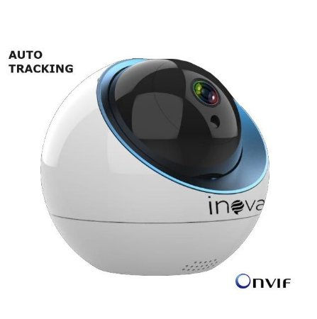 CAMERA IP/WIFI PTZ ONVIF AUDIO BI-DIRECIONAL AUTO TRACKING ROBO CAM-5704 INOVA