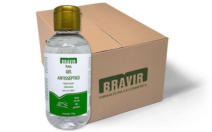 Álcool Gel 176g (70%) 12 Unidades