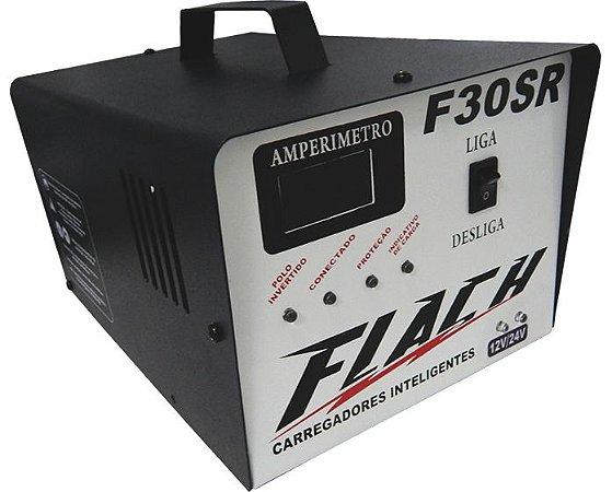 Carregador de Bateria F30-12/24SR 127/220V 250A 12/24V - Flach