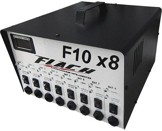 Carregador de Bateria Inteligente F10X8 127/220V 10A 12V - Flach