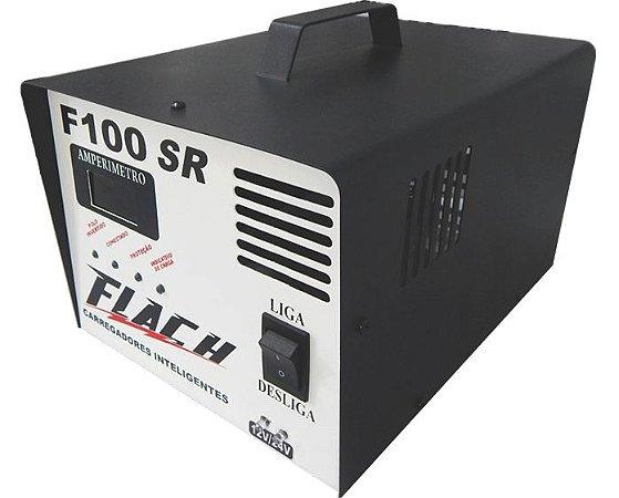 Carregador de Bateria F100-12/24SR 127/220V 250A 12/24 - Flach