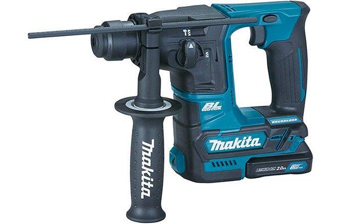 Martelo Perfurador 16mm SDS Plus 2,2KG Com 2 Baterias e Carregador Bivolt HR166DWAX1 - Makita