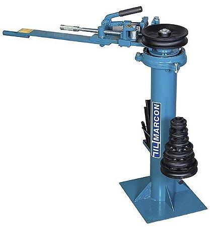 Curvador de tubo manual c/ coluna 3/8 a 1 1/4Pol. - MARCON