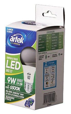 Lâmpada LED 9W Branca - Artek