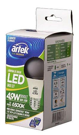 Lâmpada LED Bulbo 4,9W BRANCA - Artek