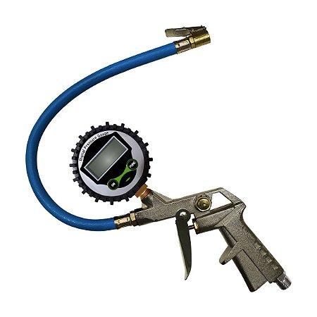 Calibrador de Pneus Portátil - 217.5 Libras (Digital) - Bremen
