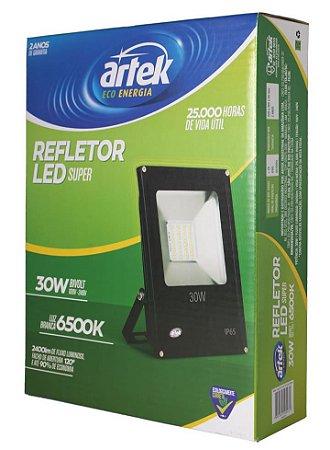 Refletor Super LED 30W 100V/240V 6500K - Artek