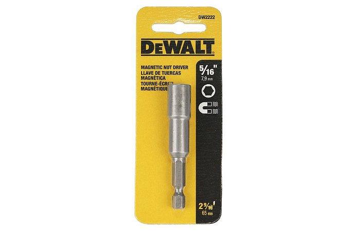 """Soquete Magnético 5 / 16"""" DW2222 - DEWALT"""