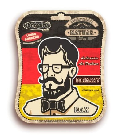 Aromatizante Miniatura Men Germany - 016695-2 - Centralsul