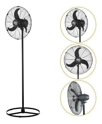 Ventilador de Coluna Industrial 70cm 127V/220V Preto V70 - V70CPRHB - Goar