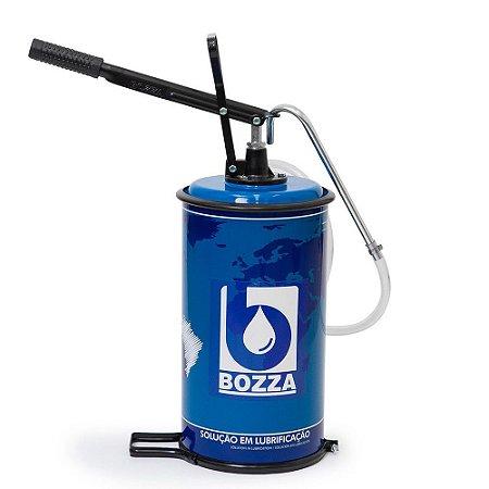 Bomba Manual p/ Óleo 14 Litros 8021-G2 C/ Recipiente - 01.210.0121 - Bozza