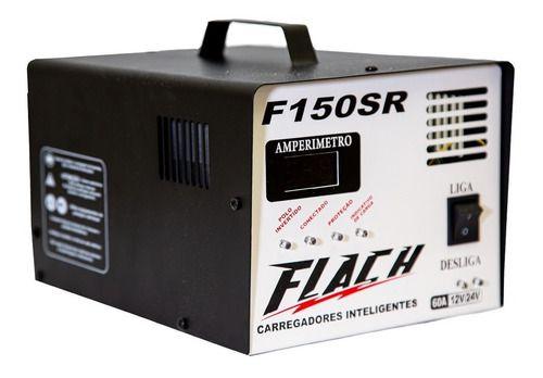 Carregador de Bateria Inteligente 150-12/24SR 127/220V 150A - F150-12/24SR - Flach