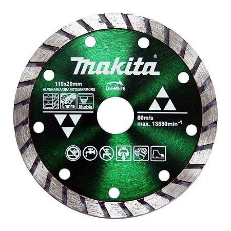 Disco Diamantado Max Turbo 110x20mm 4.3/8 - D-56976 - Makita