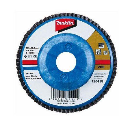 "Disco Flap Lixa 7x7/8"" GR60 (Alumínio) - D-63529-10 - Makita"