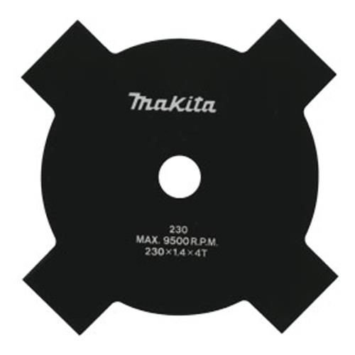 Lâmina p/ Roçadeira Estrela 230mm 4 Dentes - B-14118 - Makita