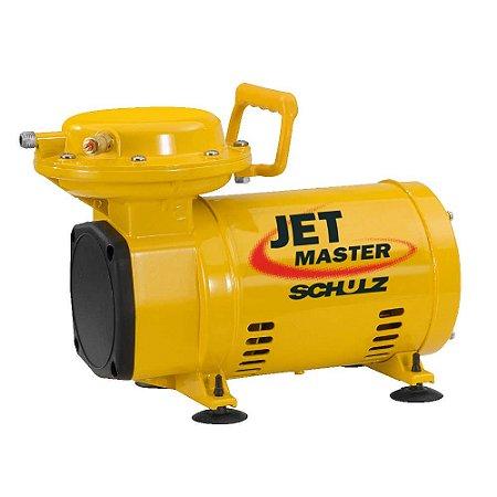 Compressor de Ar Jet Master C/ Pistola de pintura + mangueira - Schulz