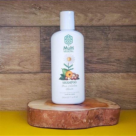 Shampoo camomila, trigo e calêndula para cabelos claros MULTIVEGETAL