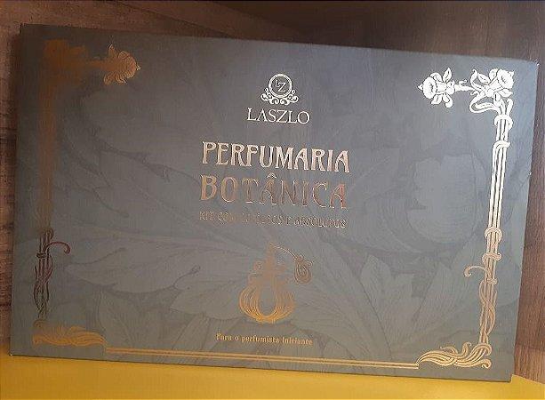 PERFUMARIA BOTÂNICA - KIT COM 20 ÓLEOS E ABSOLUTOS
