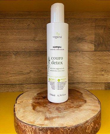 Vegana Xampu Couro Detox Tea Tree 200ml -  WNF
