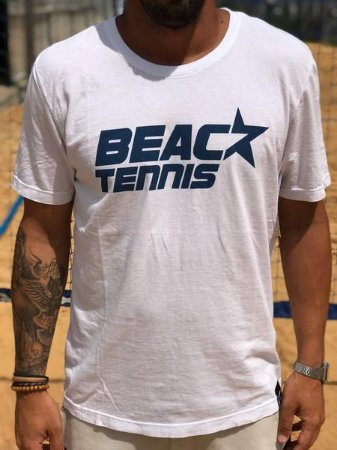 T-Shirt C-STAR Beach Tennis Azul