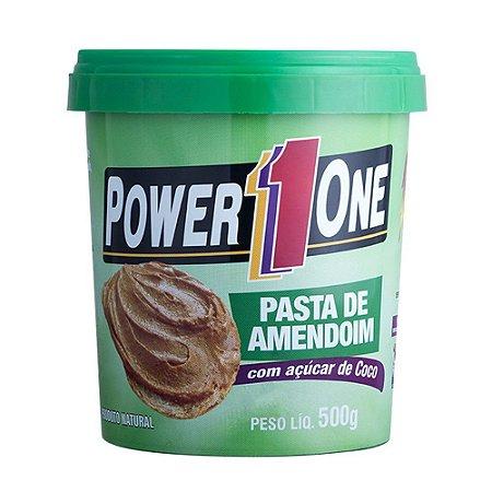 Pasta de Amendoim com Açúcar de Coco 500G - Power One