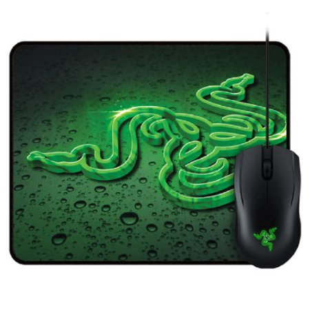 Combo Mouse Gamer Abyssus e Mousepad