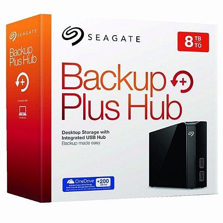 HD Externo 8Tb Backup Plus Seagate