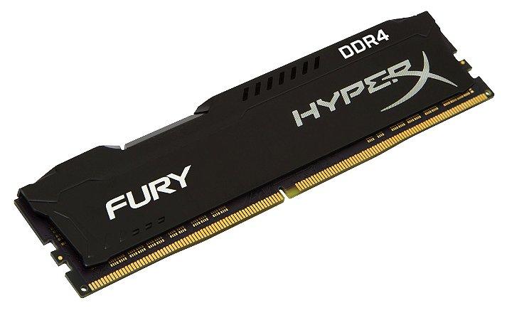 MEMORIA 8GB DDR4 2400 HYPERX FURY HX316C10FB/8 KINGSTON