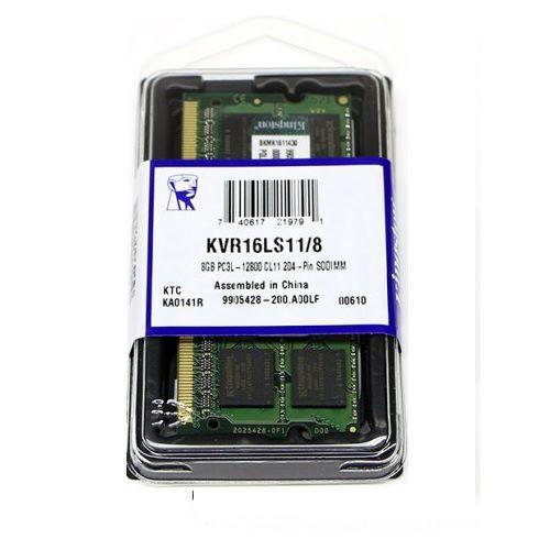 MEMORIA 8GB PC3L 12800 NOTEBOOK KVR16LS11/8
