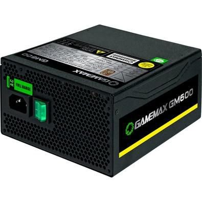 Fonte Gamemax 600W 80 Plus Bronze Semi-Modular GM600