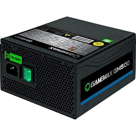 Fonte Gamemax 500W 80 Plus Bronze  GMX GM500