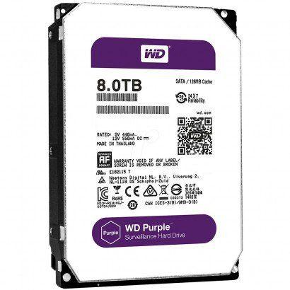 HD WD 8TB Purple SATA 6 Gb/s