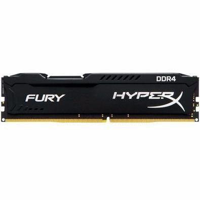 Memória Kingston HyperX FURY 16GB 2400MHZ DDR4 CL15 Preto