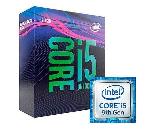 Processador Intel Core i5 9600k LGA 1151 9º Geraçao