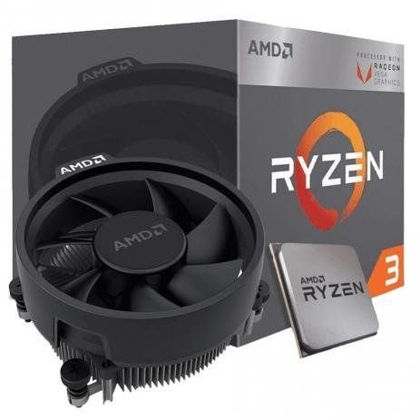 Processador AMD Ryzen 3 3200G, Cache 4MB, 3.6GHz (4GHz Max Turbo), AM4 - YD3200C5FHBOX