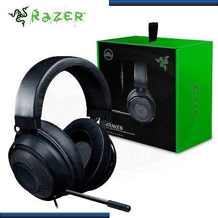 Headset Gamer Razer Kraken, Drivers 50mm, Preto - RZ04-02830100-R3U1