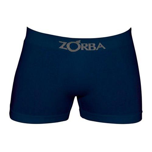 Cueca Zorba Boxer Azul Marinho - Algodão sem costura - 781