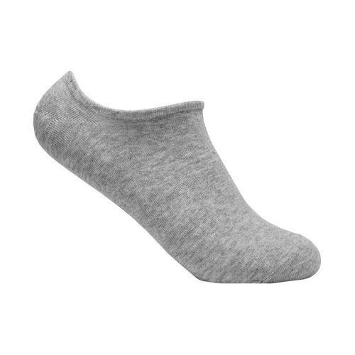 Meia Invisível de Algodão Cinza Ted Socks 1100 Tam 39 a 45