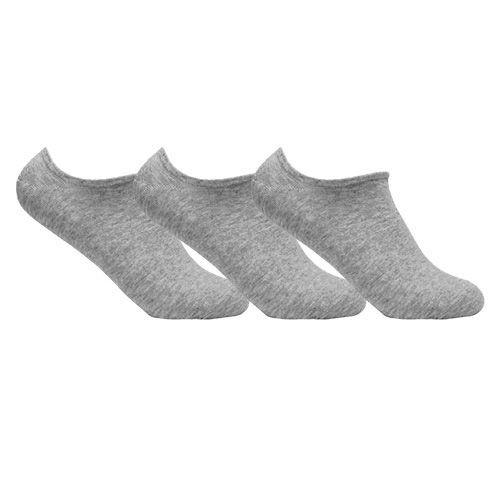 Kit 3 Meias Invisíveis de Algodão Ted Socks 1100 Tam 39 a 45