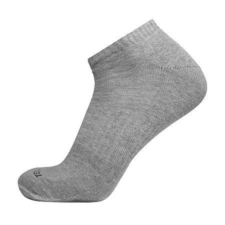 Meia de Algodão Cano Curto Cinza Ted Socks 1400