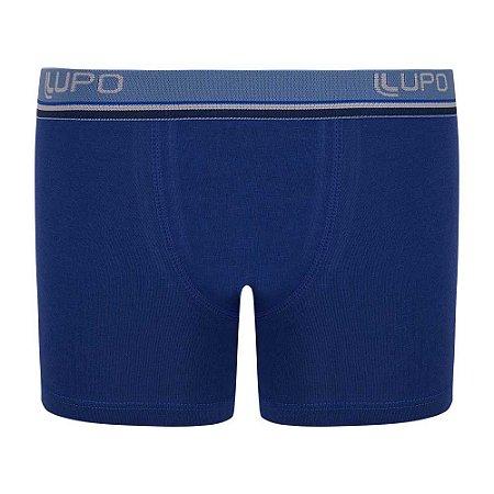 Cueca Boxer Infantil Algodão Azul Royal 141