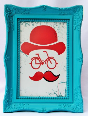 QUADRINHO DECORATIVO TEMA BIKE