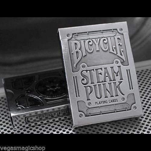 Baralho Bicycle  Steampunk  Silver  Theory11