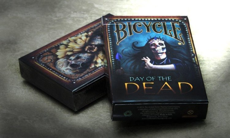 Baralho Bicycle Day Of The Dead USPCC - Poker Magicas